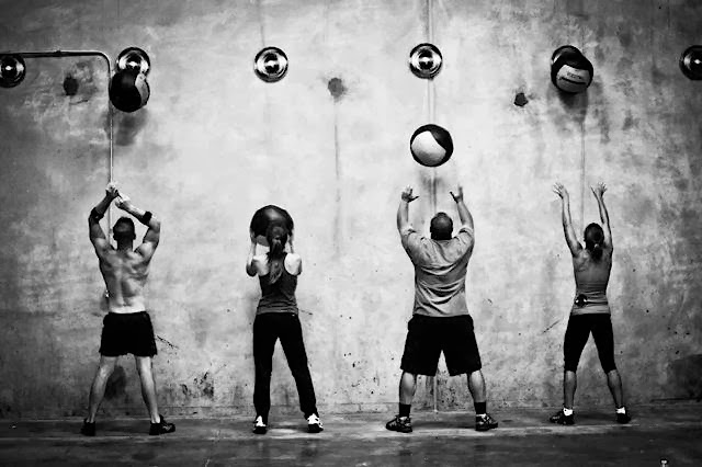 Wall Balls and the amazing power of the mind.