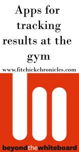 Apps for tracking results at the gym