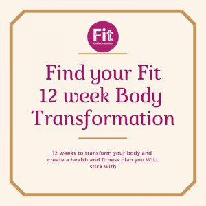 Find your fit- 12 week Body Transformation
