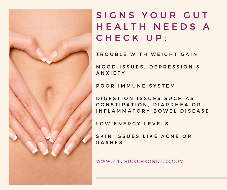 signs you have bad gut health