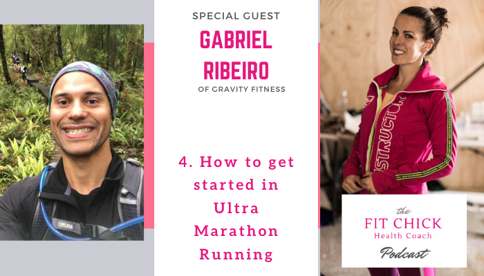 how to get started in ultra marathon running with Gabriel Ribeiro